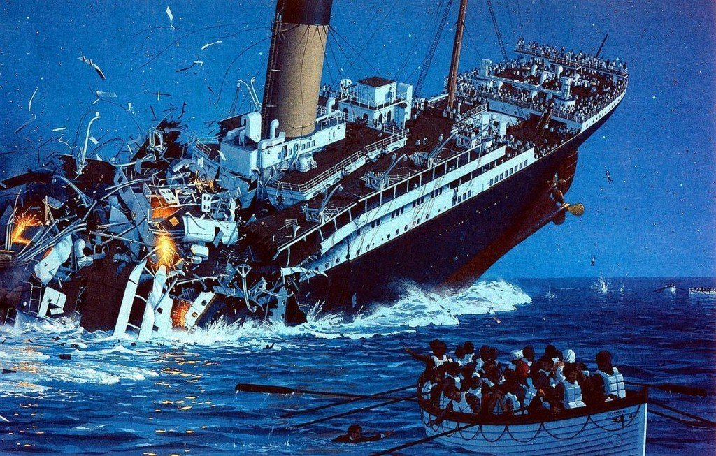 What Would Happen If A Cruise Ship Sank?