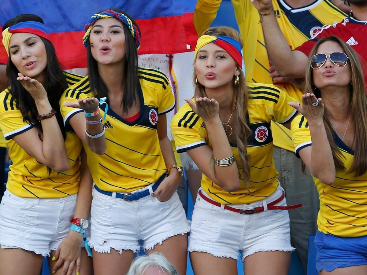 best women in colombia