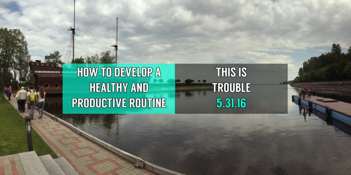 Develop a Healthy and Productive Routine