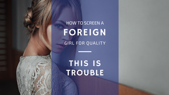 Screen a Foreign Girl