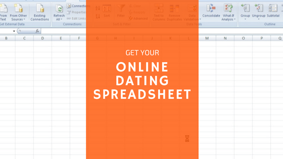 Online dating spreadsheet