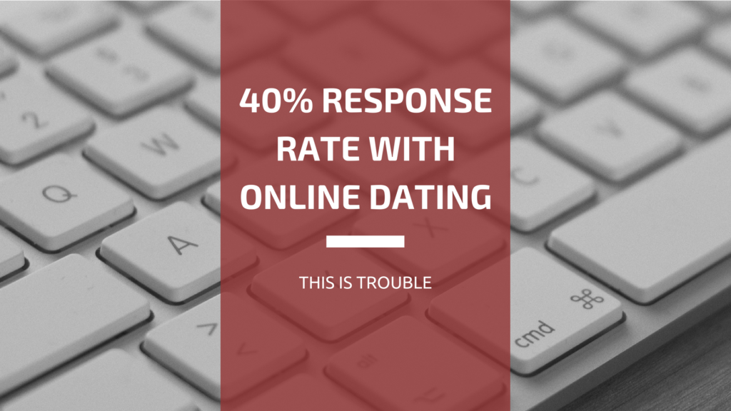 40% Response Rate With Online Dating? Excellent!