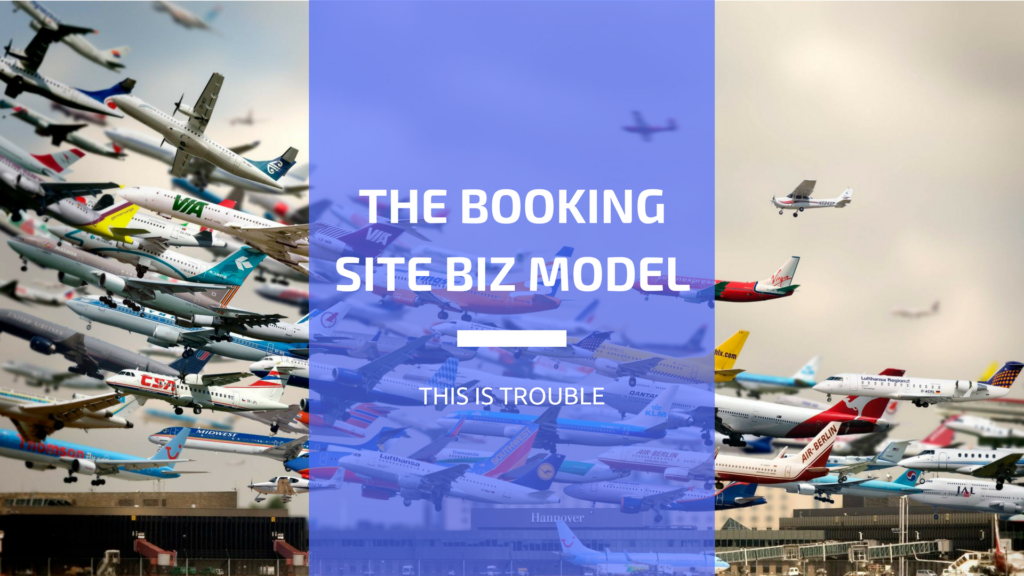 Business Model of Booking Sites