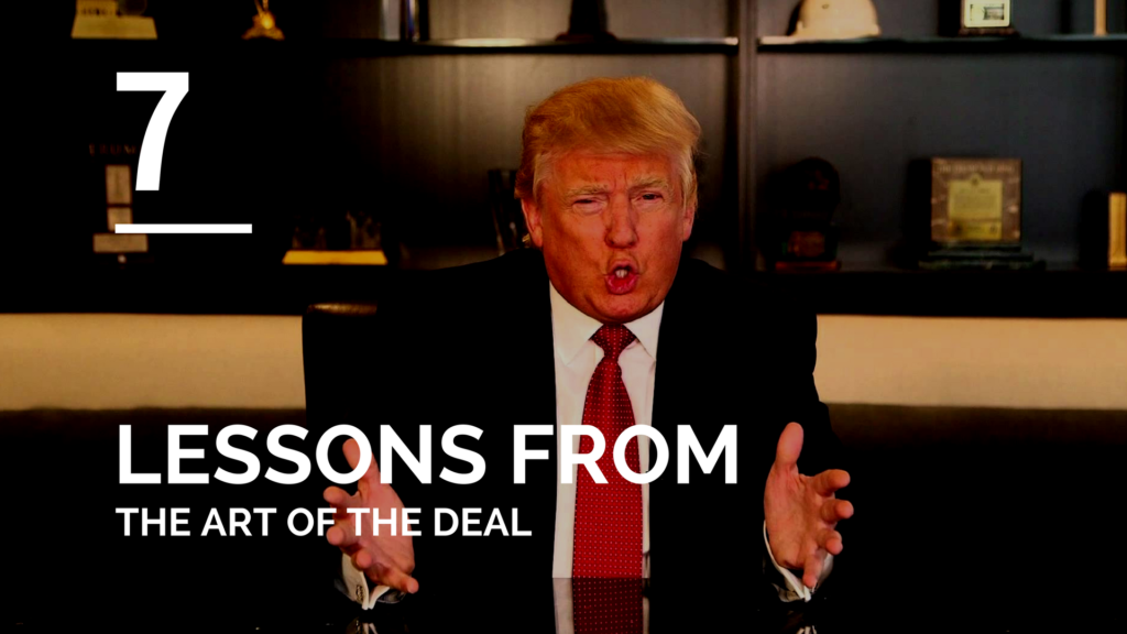 The Art of the Deal Review: 7 Things I Learned