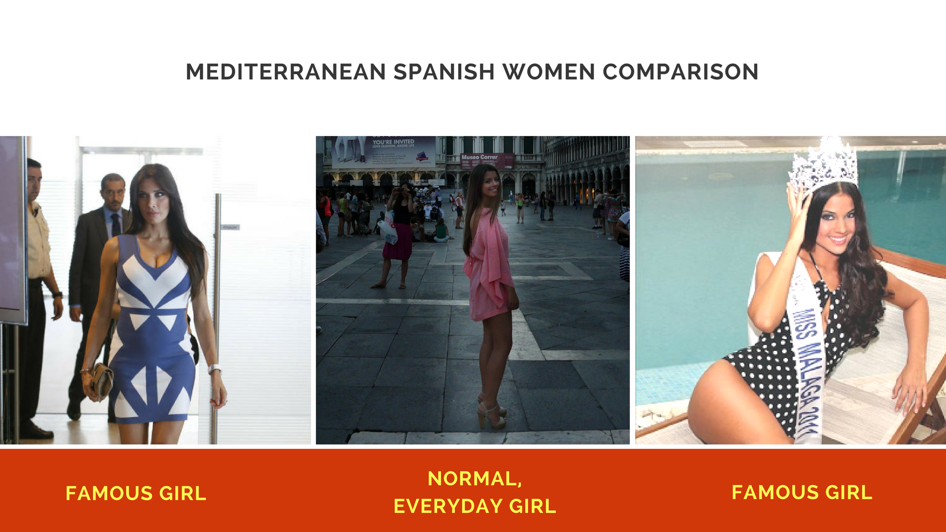 Spanish women brunettes