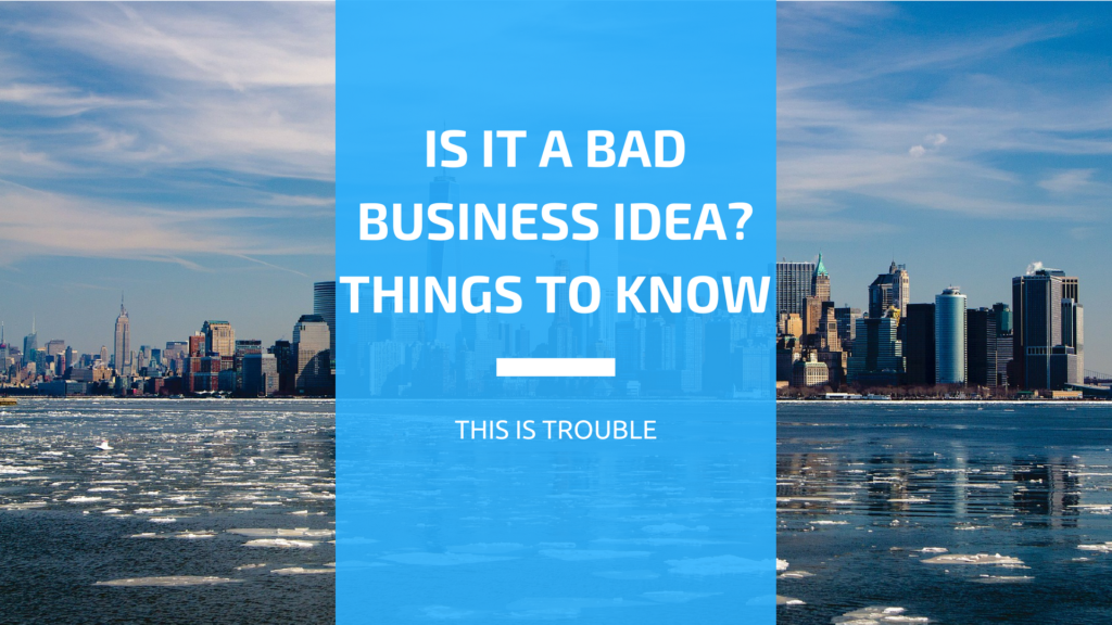 What Makes for Bad Niche Business Ideas?