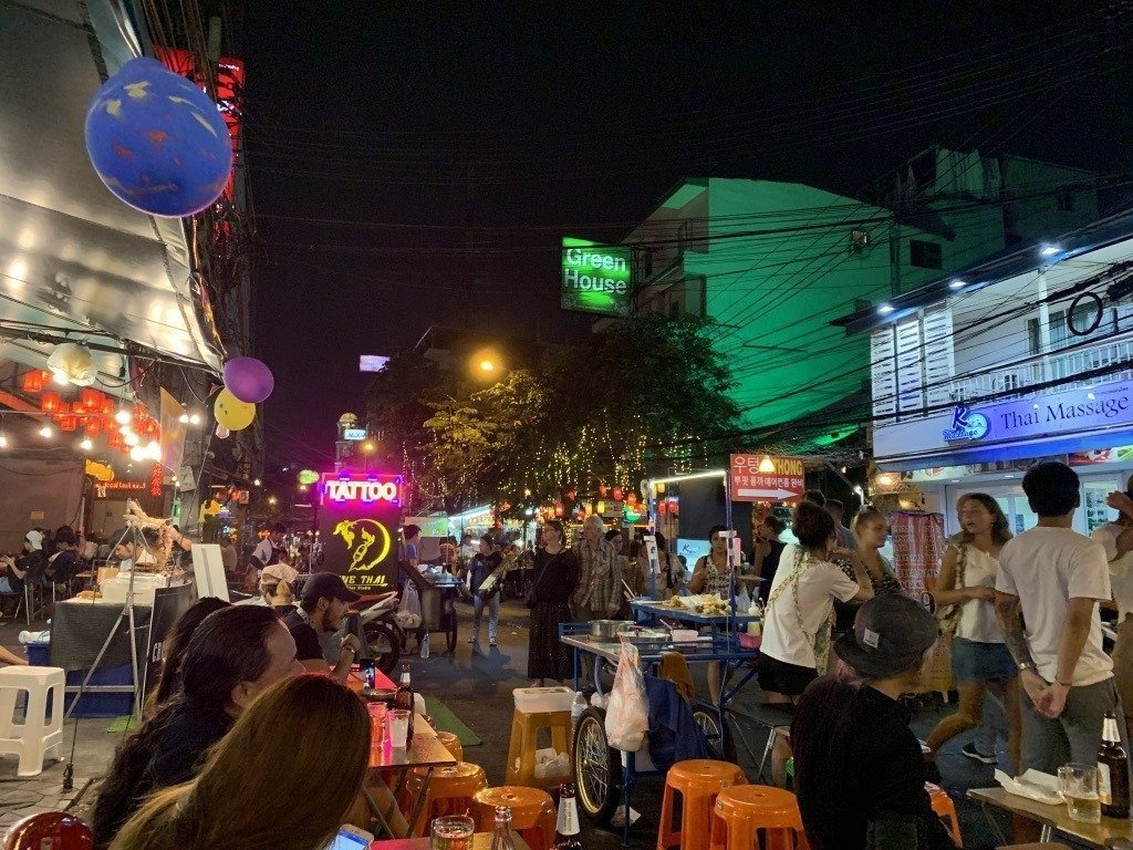 thailand vacation khao san road