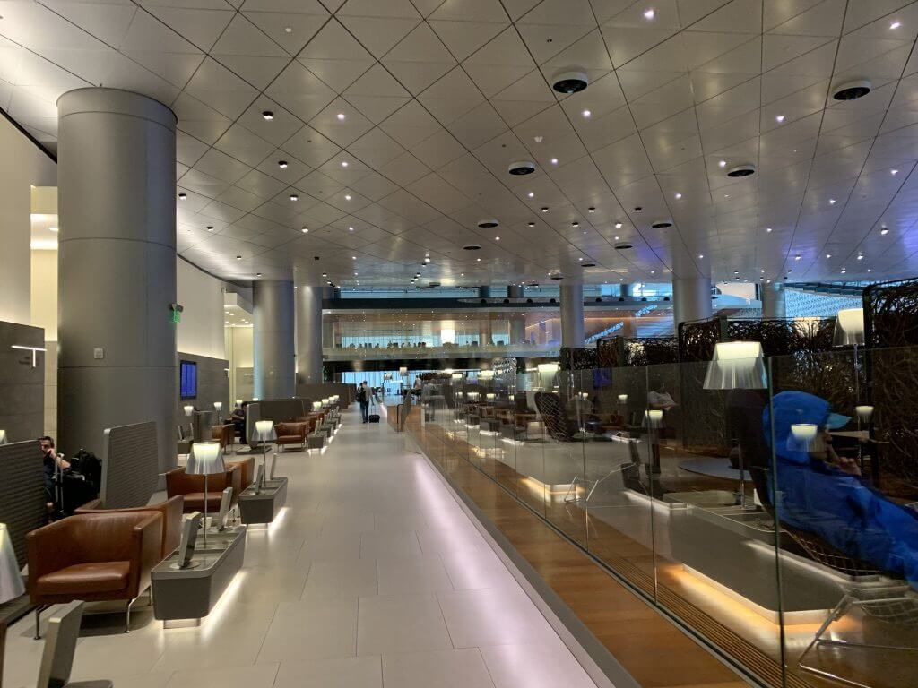 doha airport business class lounge